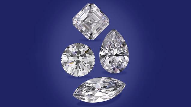 Diamond collage created by Robert Weldon.