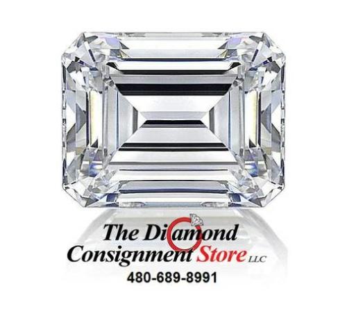Loose Emerald Diamond 1.02 ct