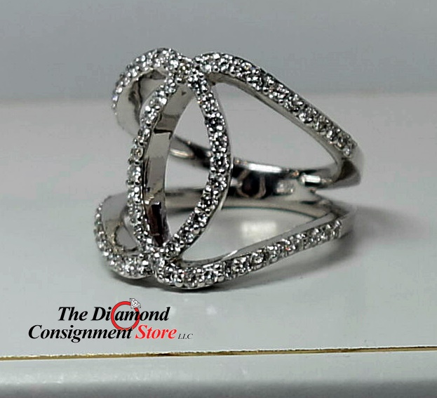 Cool Wedding Rings.Cool Diamond Fashion Ring With Euro Shanks The Diamond Consignment Store